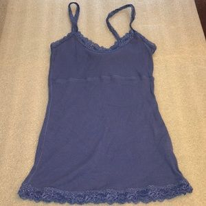 The Limited Lace Trim Cami Tank